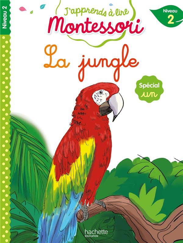 La jungle (special son un), niveau 2 - j'apprends a lire montessori