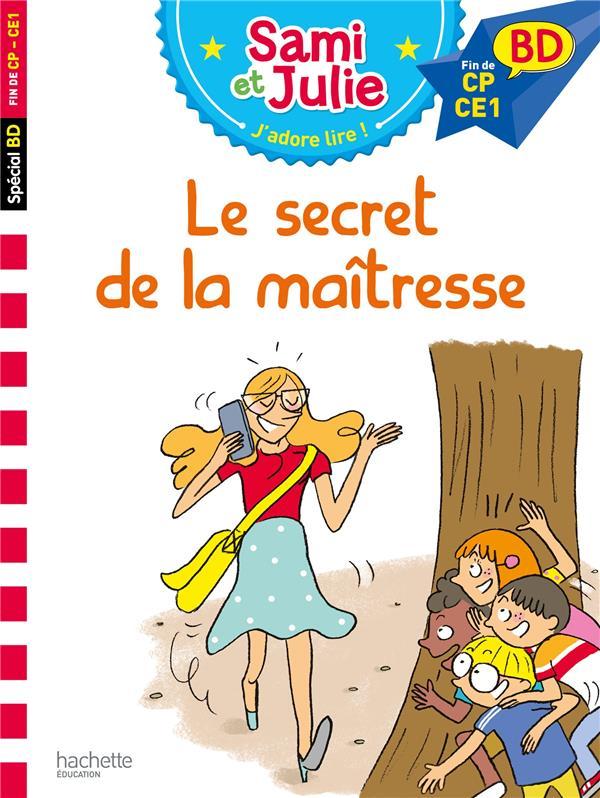 Sami et julie bd : le secret de la maitresse
