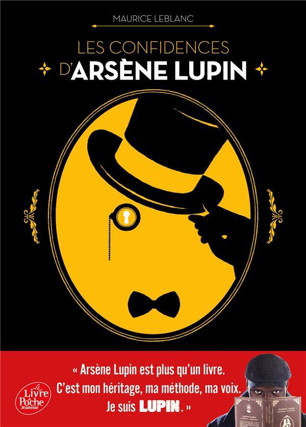 Les confidences d'arsene lupin - nouvelle edition a l'occasion de la serie netflix