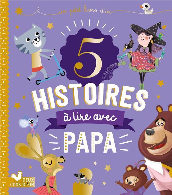 5 histoires a lire avec papa