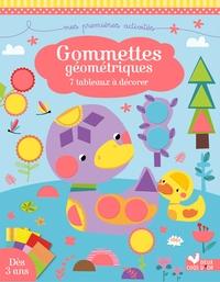 GOMMETTES GEOMETRIQUES - POCHETTE AVEC ACCESSOIRES