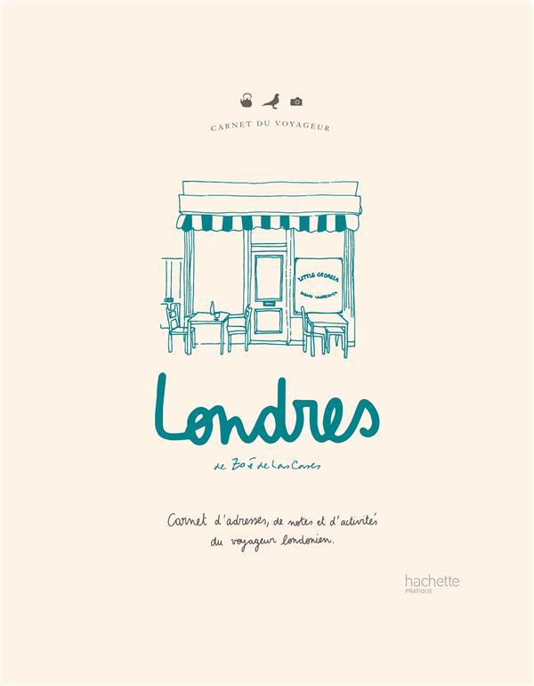 Carnet du voyageur : londres - carnet d'adresses, de notes et d'activites du voyageur londonien