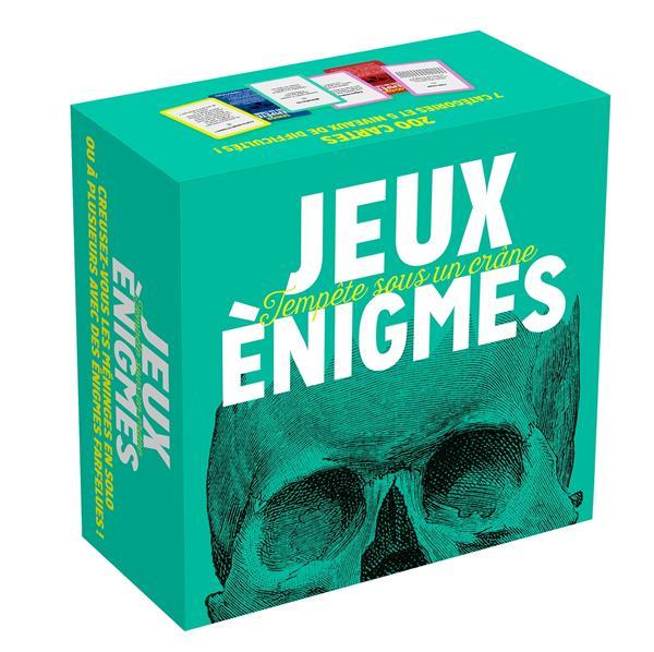 Boite jeux enigmes - 200 enigmes a decortiquer