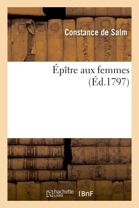 EPITRE AUX FEMMES