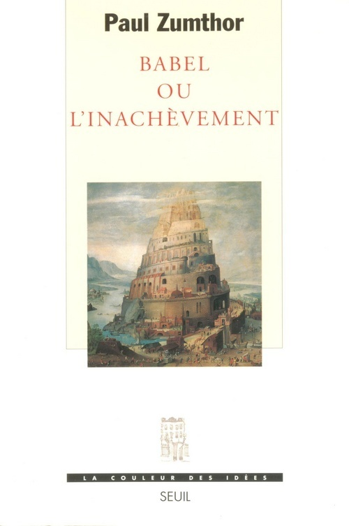 BABEL OU L'INACHEVEMENT