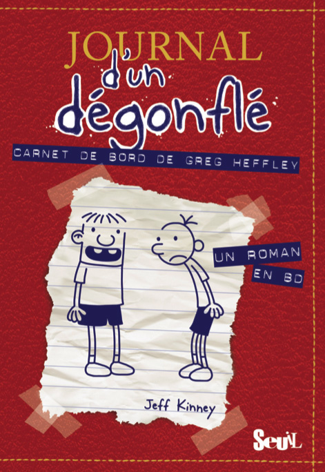 CARNET DE BORD DE GREG HEFFLEY. JOURNAL D'UN DEGONFLE, TOME 1