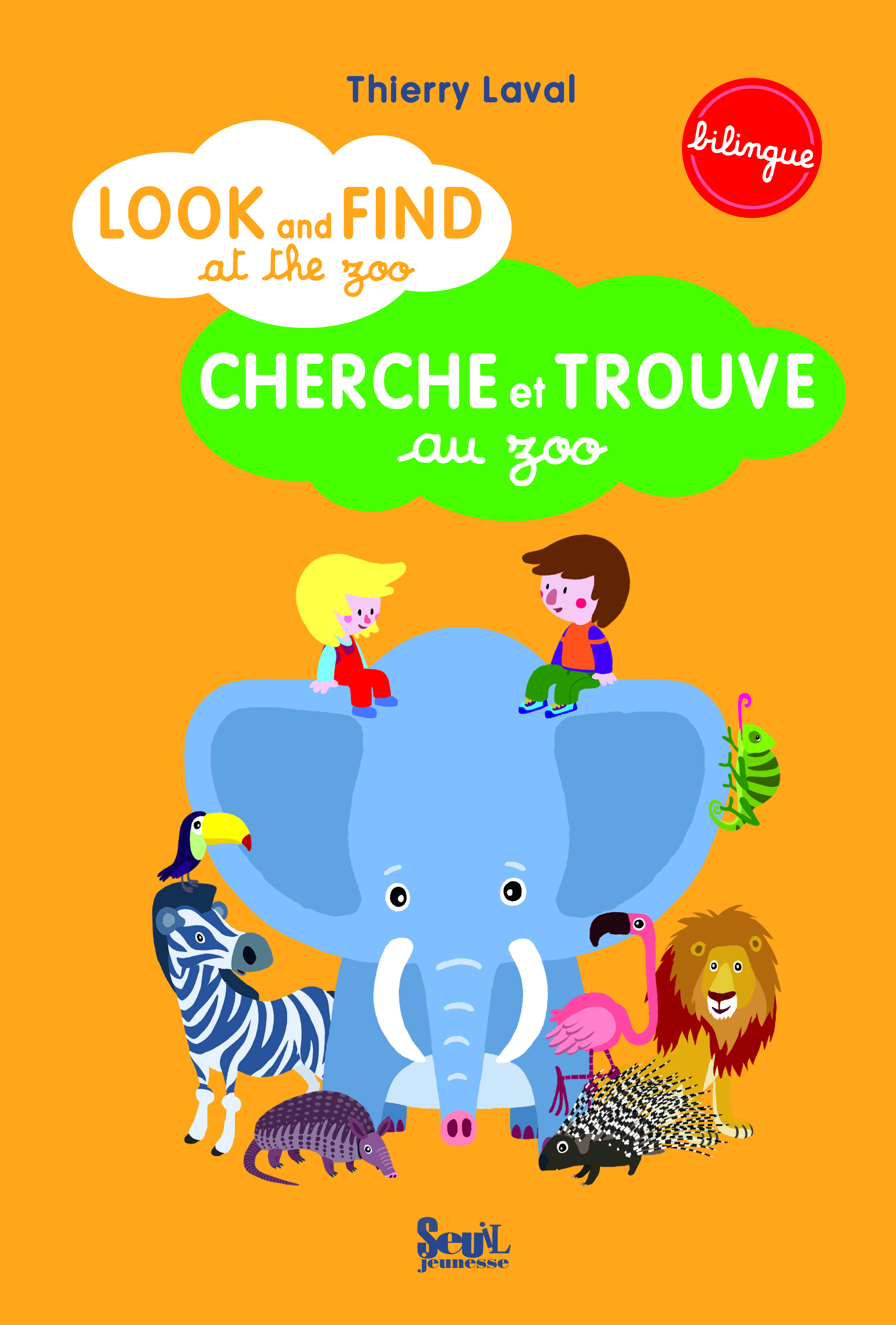 LOOK AND FIND AT THE ZOO. CHERCHE ET TROUVE AU ZOO