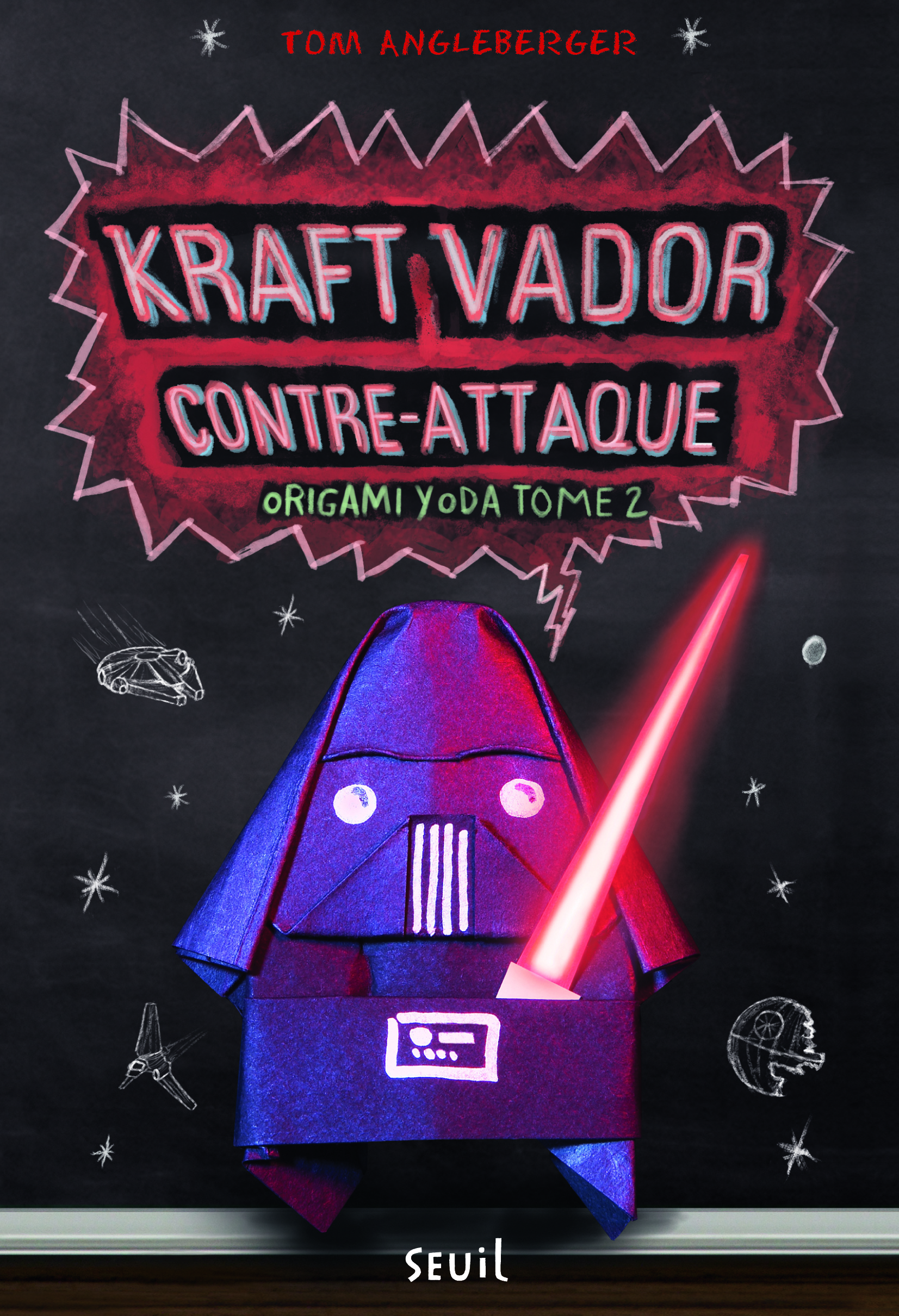 KRAFT VADOR CONTRE-ATTAQUE. ORIGAMI YODA, TOME 2 - VOL2