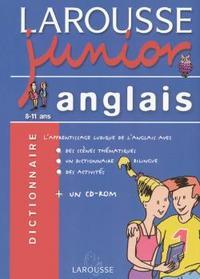 LAROUSSE JUNIOR ANGLAIS-FRANCAIS