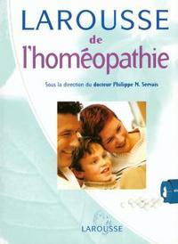 LAROUSSE DE L'HOMEOPATHIE