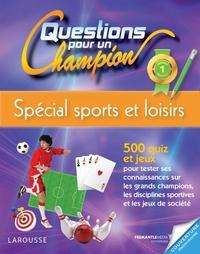 QUESTIONS POUR UN CHAMPION, SPECIAL SPORTS ET LOISIRS