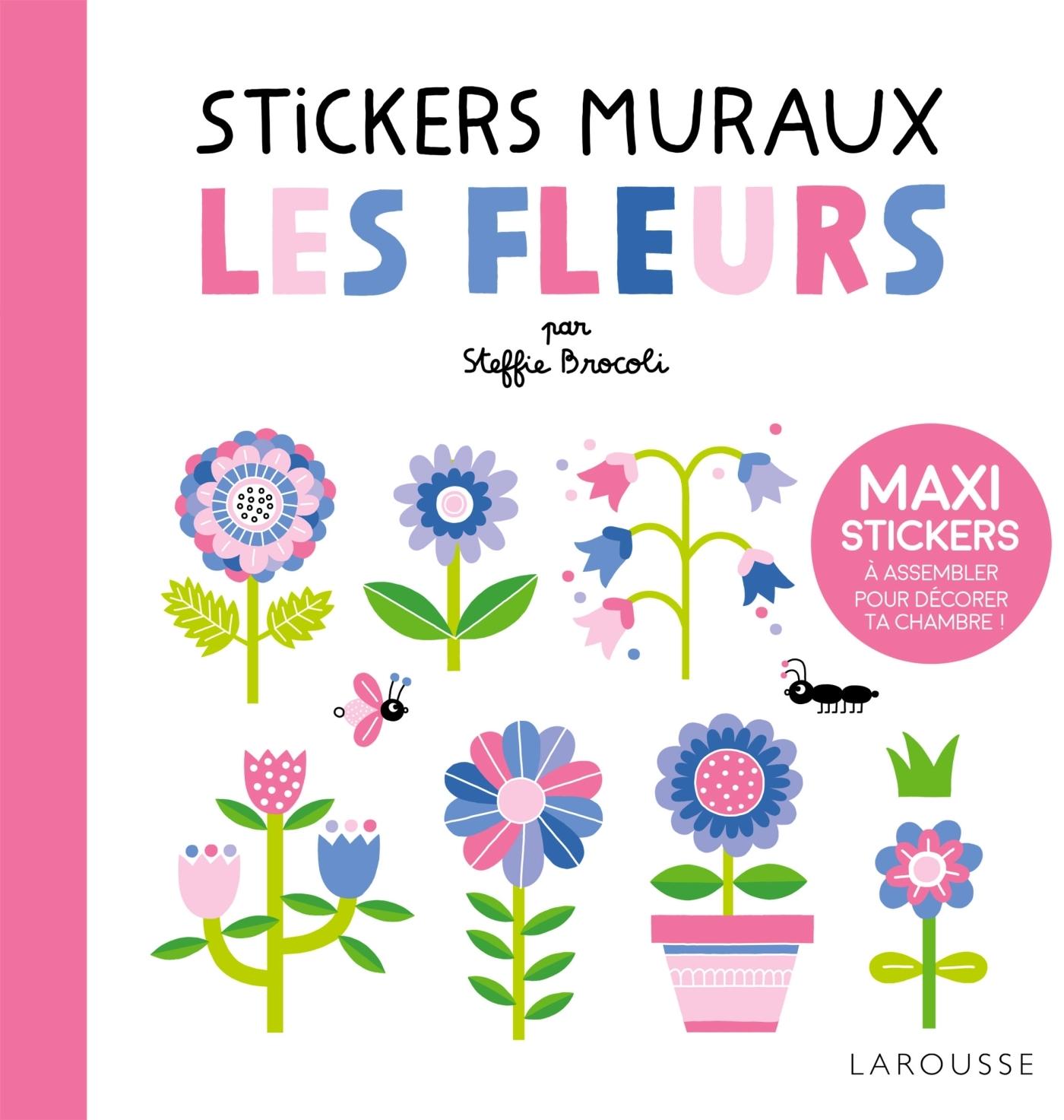 STICKERS MURAUX - LES FLEURS
