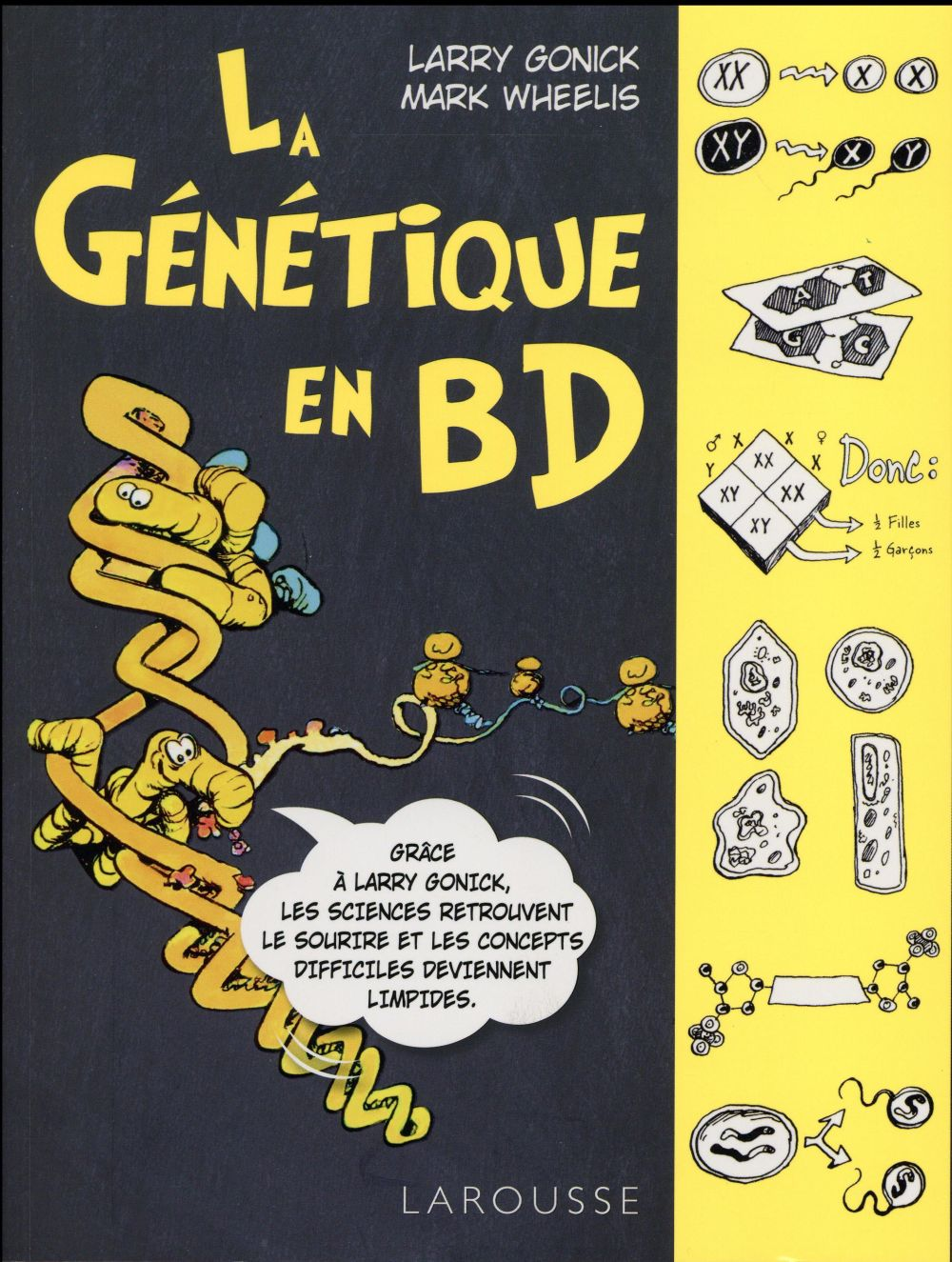 La genetique en bd