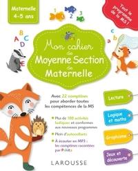 MON CAHIER DE MOYENNE SECTION DE MATERNELLE