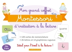 MON GRAND COFFRET MONTESSORI D'INITIATION A LA LECTURE