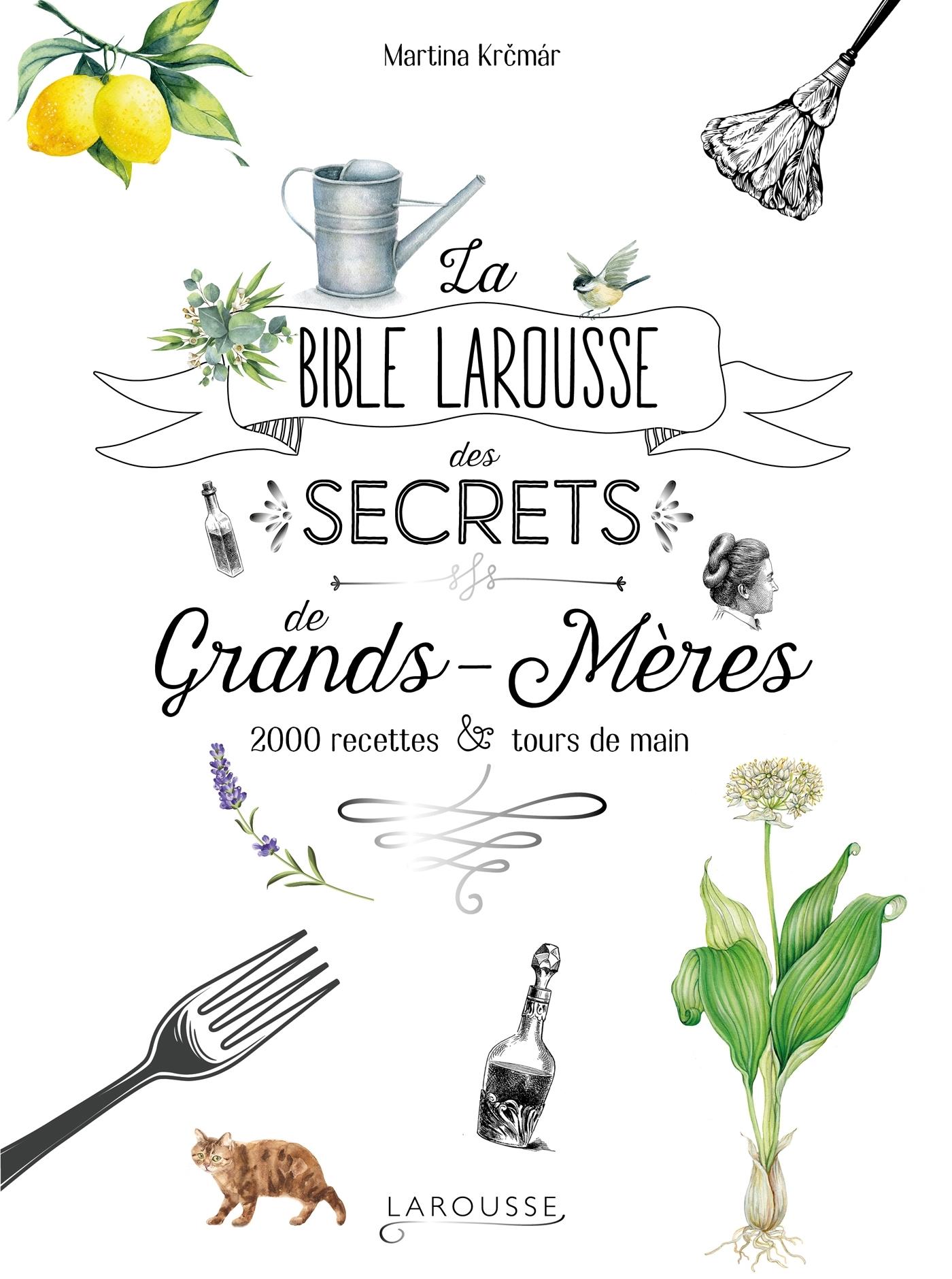 LA BIBLE LAROUSSE DES SECRETS DE NOS GRANDS-MERES - 2000 RECETTES ET TOURS DE MAIN