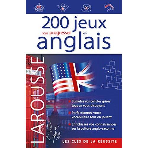 200 JEUX POUR PROGRESSER EN ANGLAIS