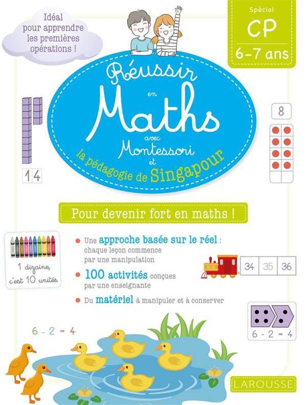 Reussir en maths avec montessori et la pedagogie de singapour cp