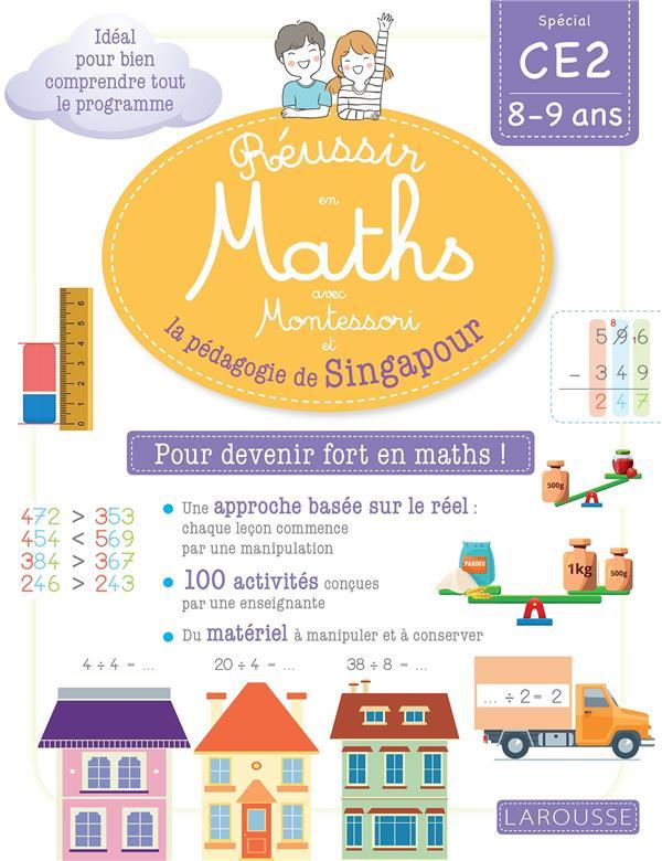 Reussir en maths avec singapour ce2