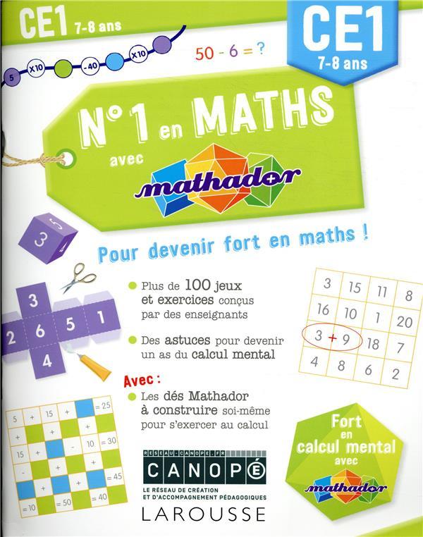 Numero 1 en maths avec mathador ce1