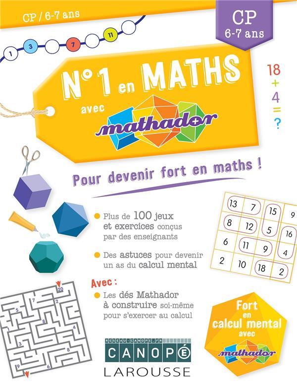 Numero 1 en maths avec mathador cp