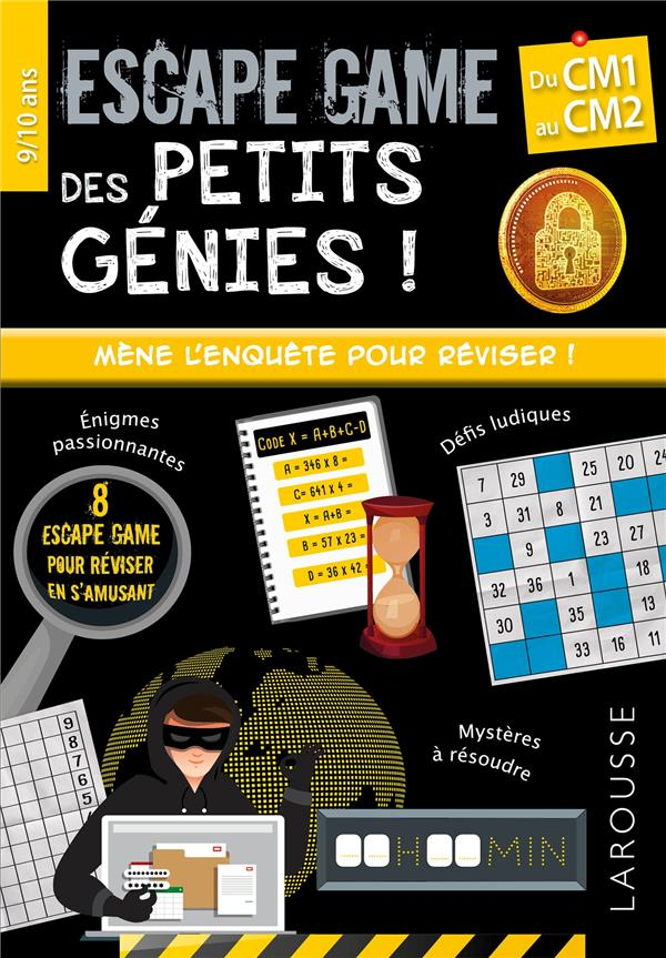 Escape games des petits genies cm1