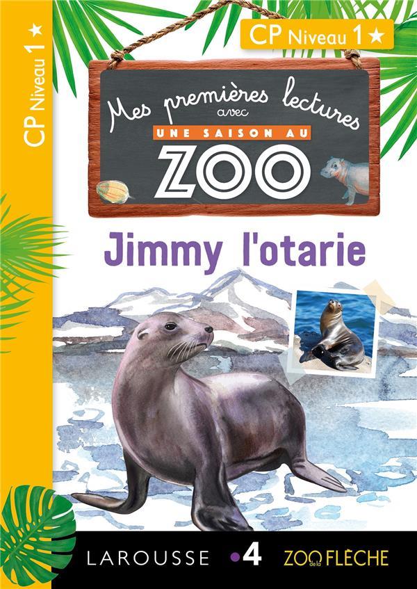 Premieres lectures une saison au zoo jimmy l'otarie