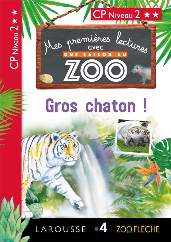 Premieres lectures une saison au zoo gros chaton