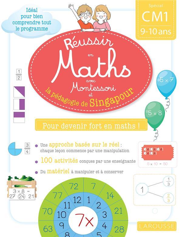 Reussir en maths avec singapour cm1
