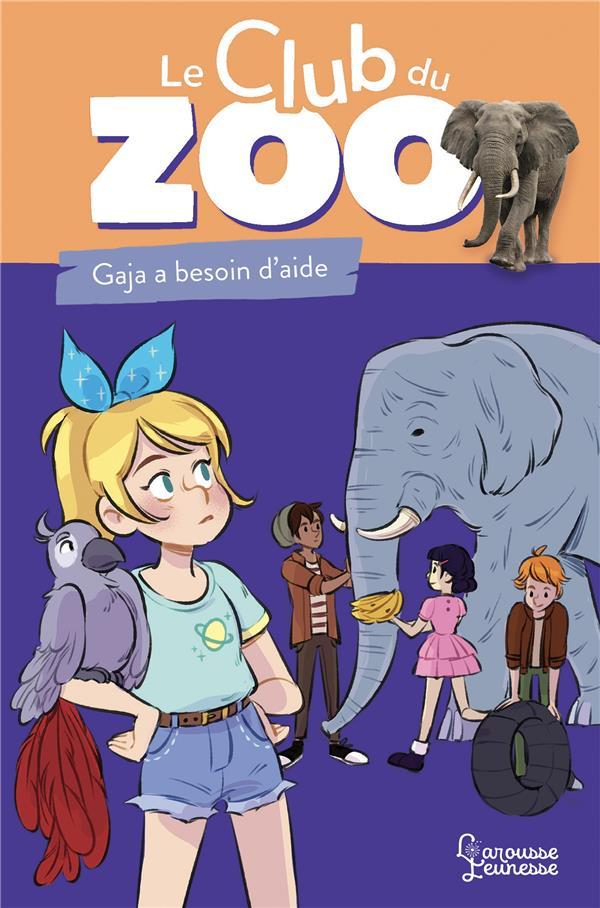 Le club du zoo - un elephant en detresse