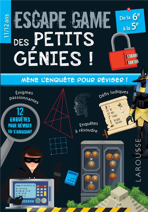 Escape game des petits genies 6e-5e