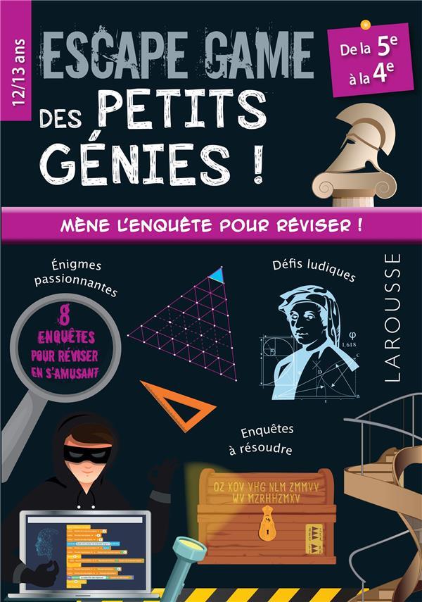 Escape game des petits genies 5e-4e