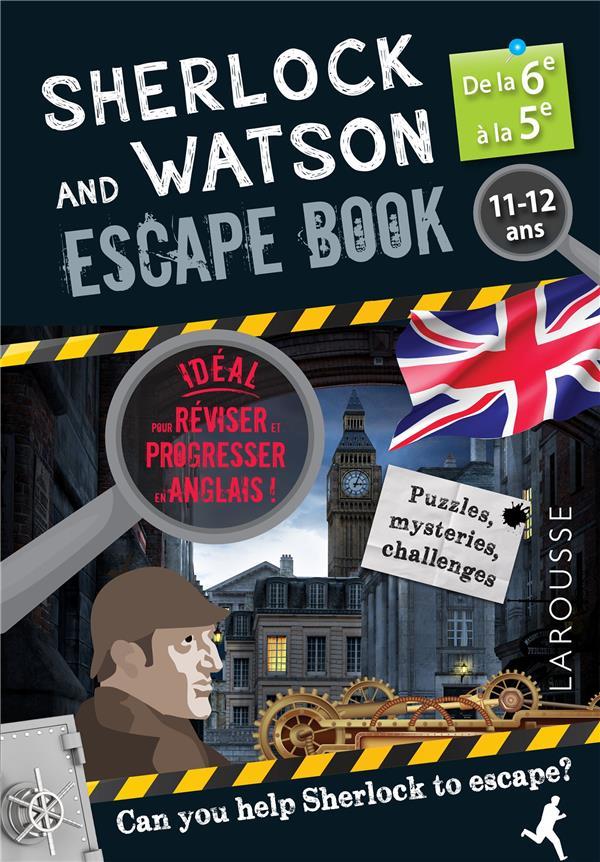 Sherlock escape book special 6e/5e