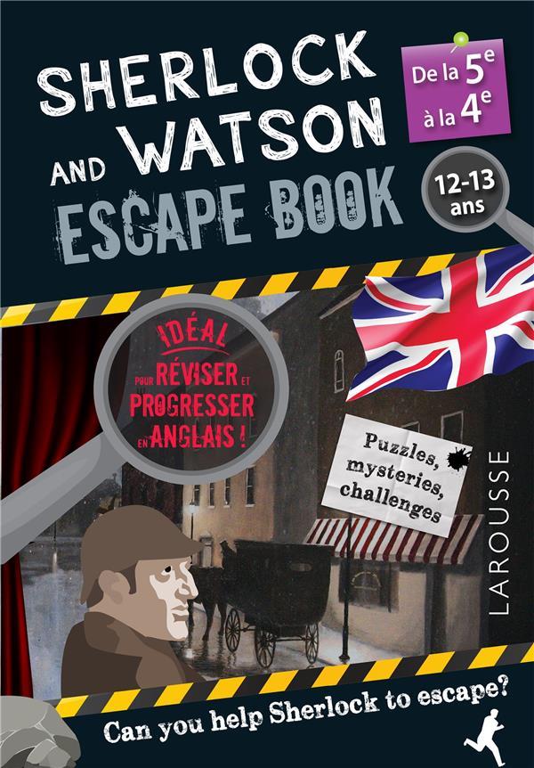 Sherlock escape book special 5e/4e
