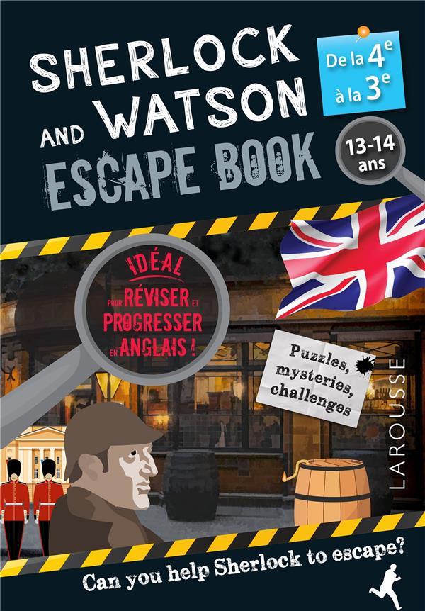 Sherlock escape book special 4e/3e