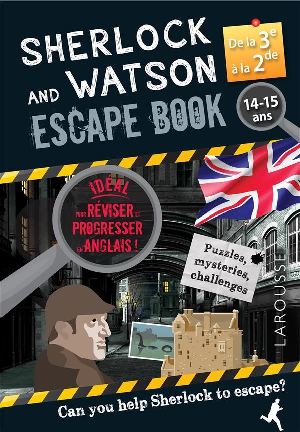 Sherlock escape book special 3e/2e
