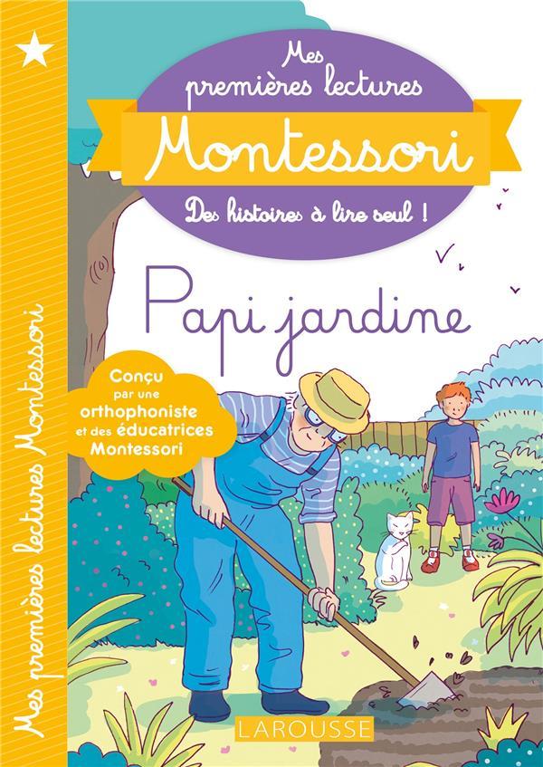 Mes premieres  lectures montessori - papi jardine