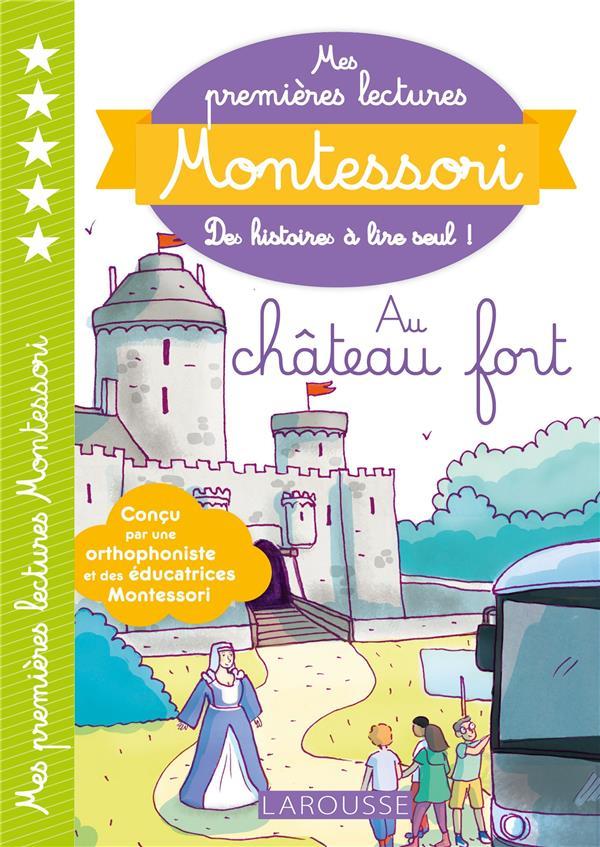 Mes premieres lectures montessori - le chateau fort