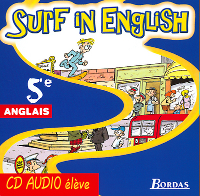 SURF IN ENGLISH 5E CD AUDIO