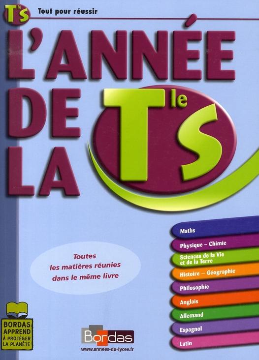 ANNEE DE TERMINALE S 2006