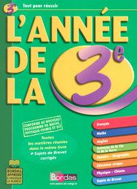 ANNEE DE LA 3E  ED 2008