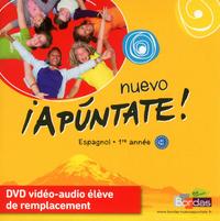 NUEVO APUNTATE ESPAGNOL COLLEGE 1ERE ANNEE 2011 DVD VIDEO-AUDIO ELEVE DE REMPLACEMENT