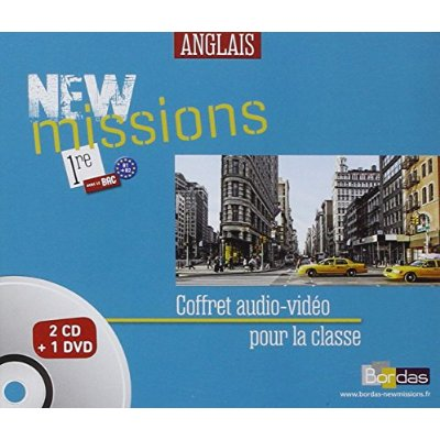NEW MISSIONS ANGLAIS 1ERE 2015 MATERIEL AUDIO-VIDEO COLLECTIF