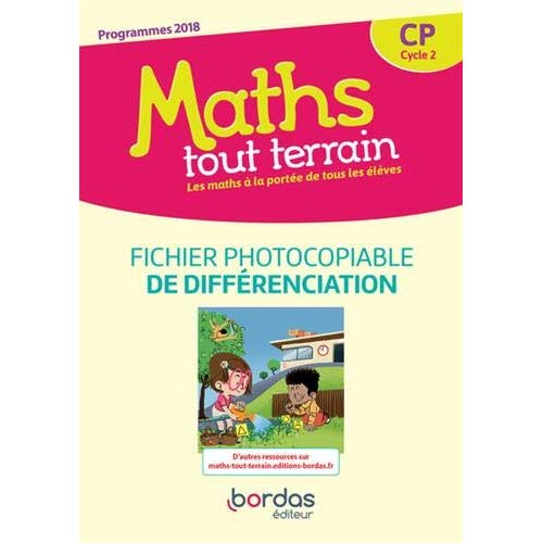 MATHS TOUT TERRAIN CP - FICHIER PHOTOCOPIABLE DE DIFFERENCATION - 2019