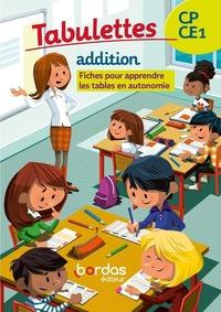 TABULETTE ADDITIONS CP/CE1 2020