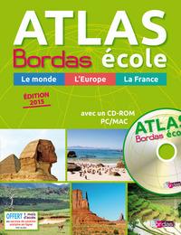 ATLAS BORDAS ECOLE+CD GP 2015