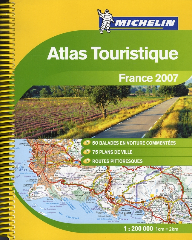 FRANCE ATLAS 2007 + STYLO