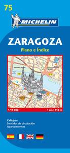 ZARAGOZA PLANO E INDICE (ESPAGNOL)