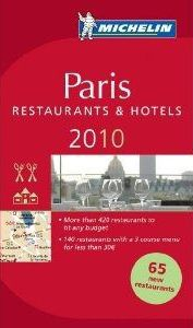 GUIDE MICHELIN PARIS 10 (ANG)
