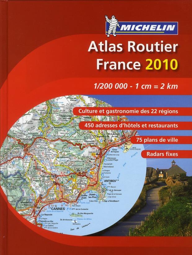 ATLAS FRANCE TOURISME ET PATRIMOINE 2010